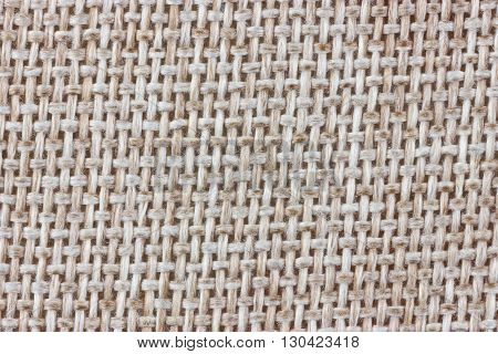 Checkered cloth fabric material texture. Natural background.