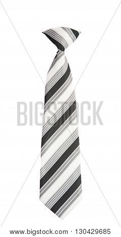 fashion men's necktie isolated on white background