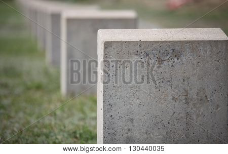 empty gravestone monument to the unknown soldier