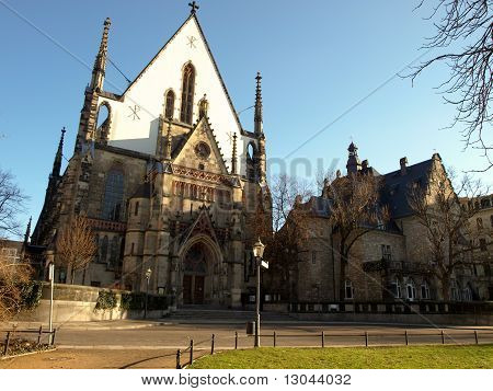Church Nikolaikirche In Leipzig