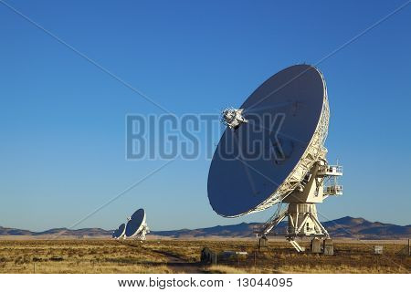Very Large Array Telescope Dishes