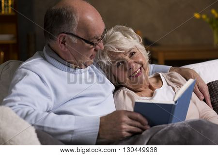 Senior Married Couple In Love