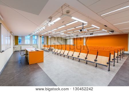 Deliver Your Lecture In Modern Surroundings