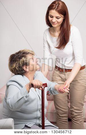 Beautiful Relation Between Grandma And Granddaughter