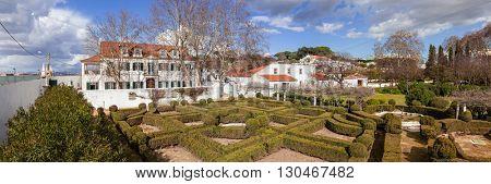 Quinta da Fidalga (Fidalga Palace and Gardens). Seixal, Setubal, Portugal.