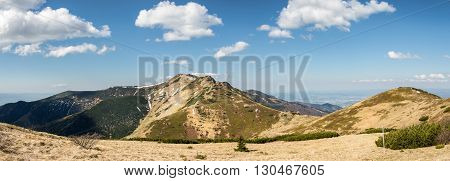Panoramic View From Slovak Little Fatra Hills