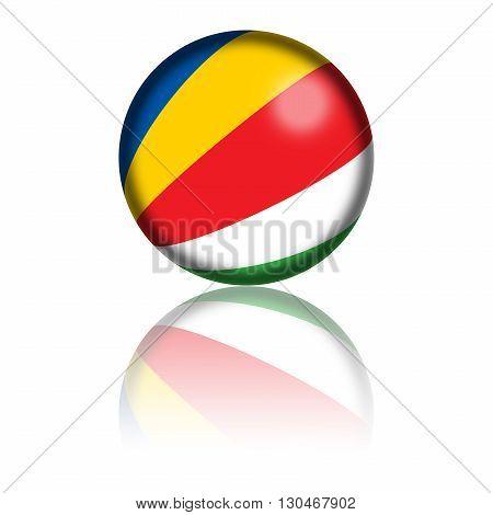 Seychelles Flag Sphere