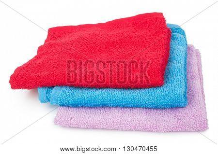 Three color towels