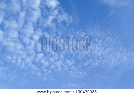 nature blue sky and white cloud background
