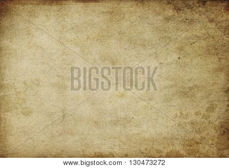 Aged grunge paper background for the design.