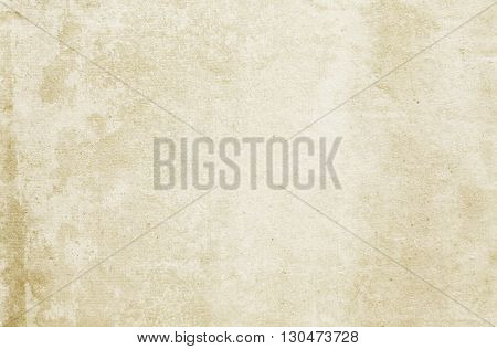 Aging stained paper background. Natural paper texture for the design.