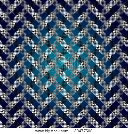 Seamless background pattern. Abstract diagonal plaid pattern. Imitation of canvas texture.