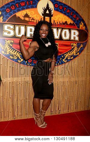 LOS ANGELES - MAY 18:  Cydney Gillon at the Survivor: Kaoh Rong Finale at the CBS Radford on May 18, 2016 in Studio City, CA