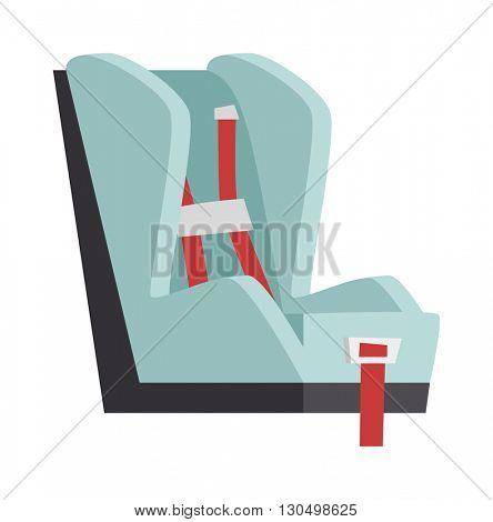 Baby seat vector illustration.