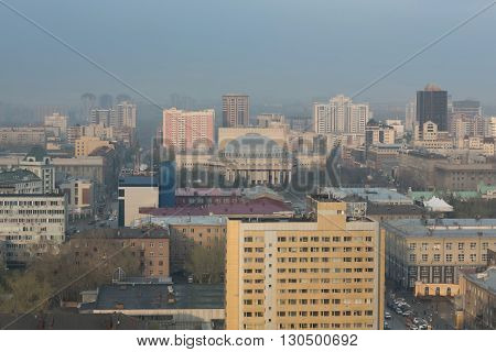 Russia. Novosibirsk. Opera and Ballet Theatre. NOVAT.