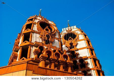 Temple. India, New Delhi.