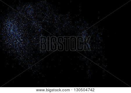 Aqua Glitter Texture Vector.