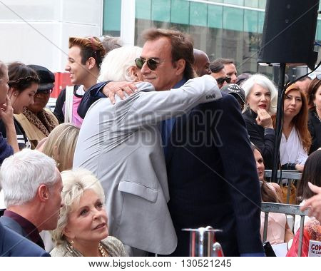LOS ANGELES - MAY 19:  Bill Hayes, Thaao Penghlis at the Deidre Hall Hollywood Walk of Fame Ceremony at the Hollywood Blvd. on May 19, 2016 in Los Angeles, CA
