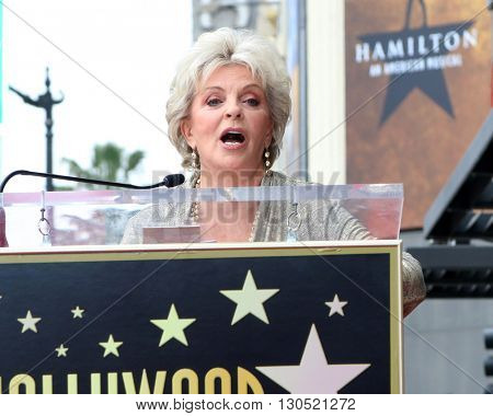 LOS ANGELES - MAY 19:  Susan Seaforth Hayes at the Deidre Hall Hollywood Walk of Fame Ceremony at Hollywood Blvd. on May 19, 2016 in Los Angeles, CA