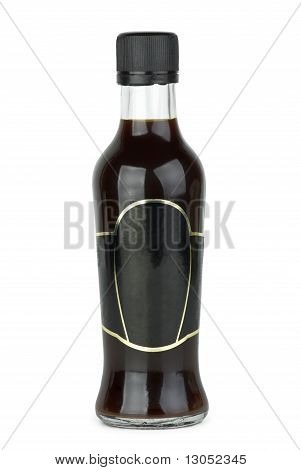 Glass Bottle With Soy Sauce