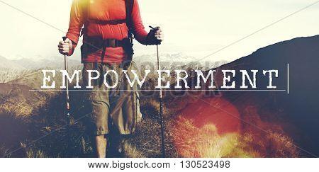 Empowerment Powerful Authority Power Progress Concept
