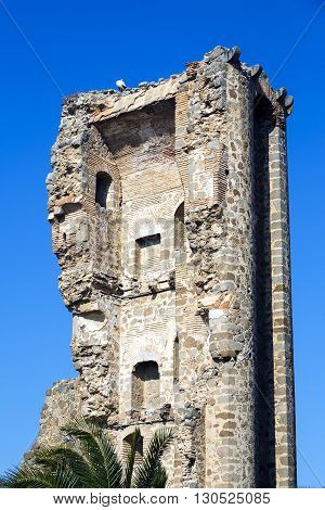 Polan castle fortress built around the twelfth century for defensive purposes Spanish population of the province of Toledo in Castilla-La Mancha.