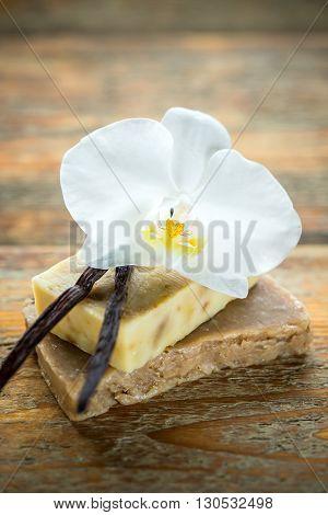Handmade Vanilla Scented Soap