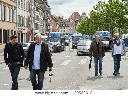 Police Van Surveillane