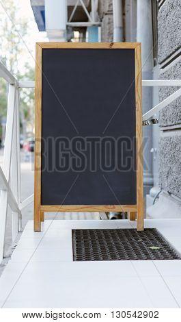Street menu board