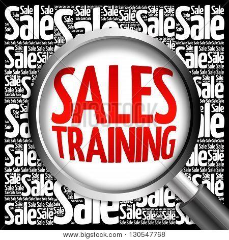 Sales Training Sale Word Cloud