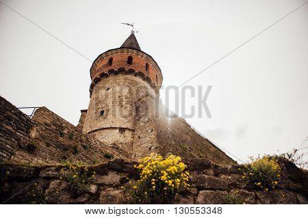 Medieval Castle Fortress Kamenetz-podolsk Ukraine