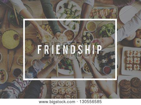 Friendship Connection Relationship Together Concept