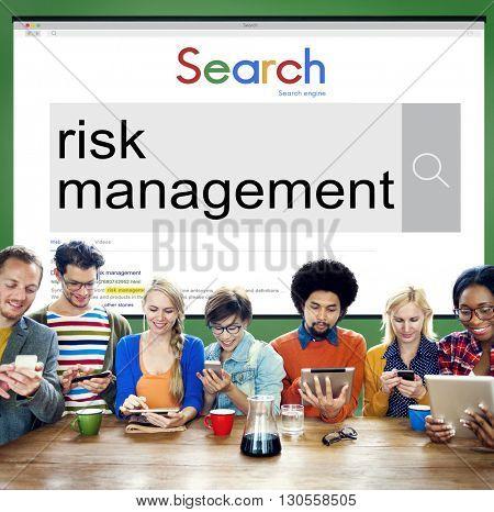 Risk Management Forecast Opportunity Unsure Concept