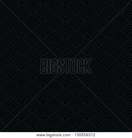 Vector Illustration Of Abstract Seamless Art-Deco Pattern. Vector Seamless Pattern. Seamless Background.