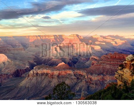 Photo of Grand Canyon at the South Rim