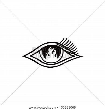 Flame Eye Symbol Theme