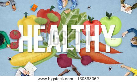 Healthy Health Check Lifestyle Nutrition Physical Concept