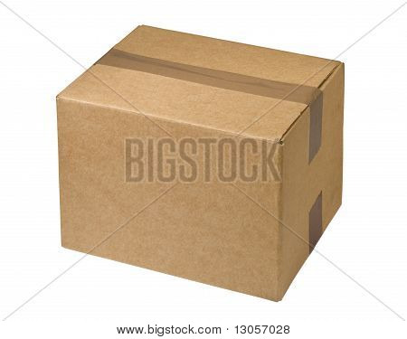 Sealed  Cardboard  Box
