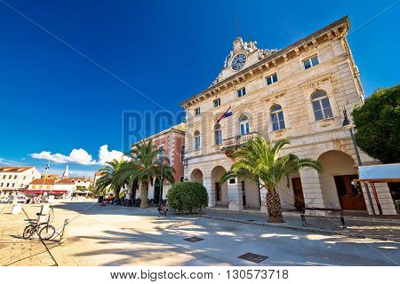 Town of Stari Grad waterfront architecture island of Hvar Croatia