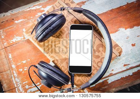 Headphones And Phone Vintage Photos, Listen To Music