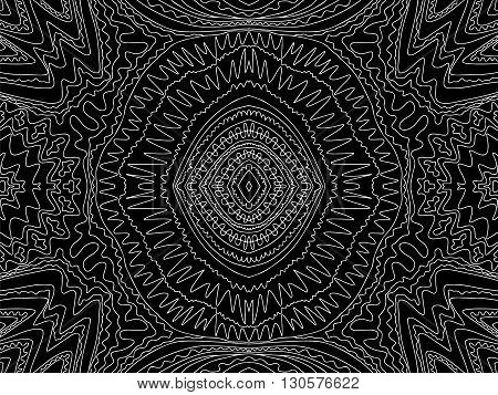 Background Abstract Ink Curves Trendy Black White 1