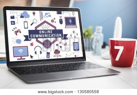 Computer Technology Device Business Work Concept