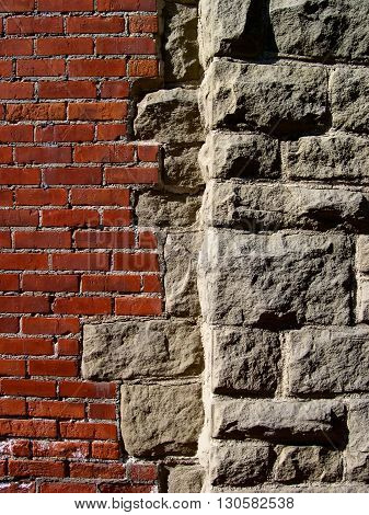 a picture of an exterior 1920's building wall