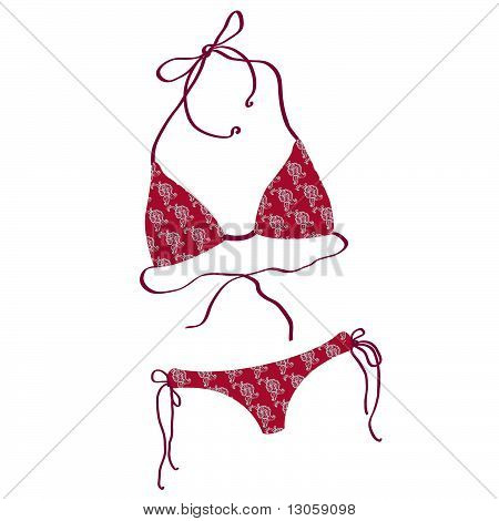 Women bathing suits.