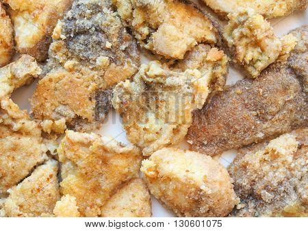 Fried Porcini Mushrooms