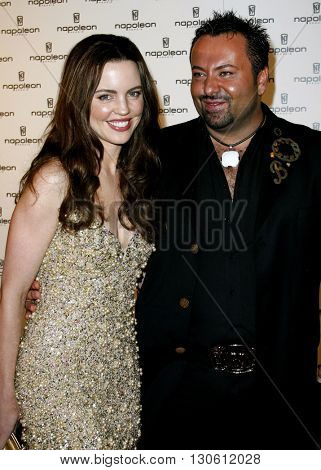 Melissa George and Napoleon Perdis at the Napoleon Perdis Hollywood Store Unveiling  held at the Napoleon Perdis in Hollywood, USA on May 1, 2007.