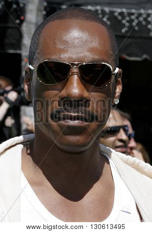 Eddie Murphy at the Los Angeles premiere of 'Shrek 3' held at the Mann Village Theater in Westwood, USA on May 6, 2007.