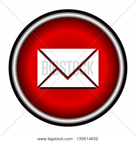 postal envelope sign. e-mail symbol . icon envelope.