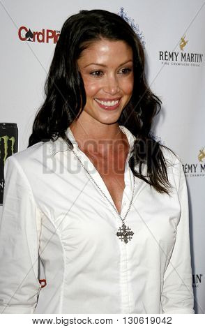 Shannon Elizabeth at the 2nd Annual Celebrity Poker Tournament to Benefit The Urban Health Institute held at the Playboy Mansion in Holmby Hills, USA on April 28, 2007.