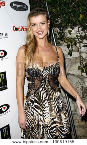 Joanna Krupa at the 2nd Annual Celebrity Poker Tournament to Benefit The Urban Health Institute held at the Playboy Mansion in Holmby Hills, USA on April 28, 2007.